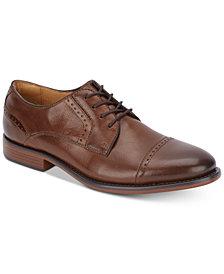 Dockers Men's Hawley Cap-Toe Leather Oxfords