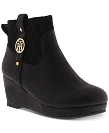 Tommy Hilfiger Little & Big Girls Cate Meg Booties
