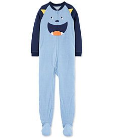 Carter's Little Boys 1-Pc. Monster Fleece Pajamas
