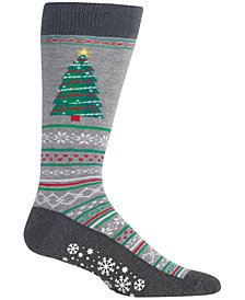 Hot Sox Men's Tree Crew Socks
