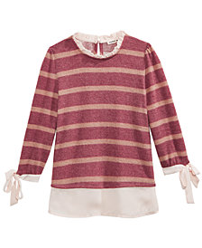 Monteau Big Girls Layered-Look Top