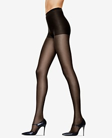 Women's 6pk Silk Reflections Control Top Sandalfoot Silky Pantyhose Sheers 717