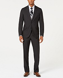 Men's Modern-Fit Stretch Pin Dot Suit