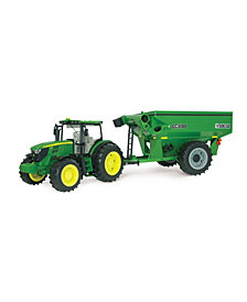 Tomy - Ertl Big Farm 6210R Tractor With Grain Cart