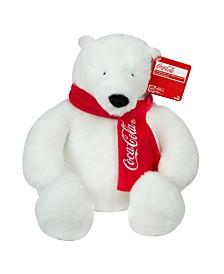 TOMY - Coca-Cola 16 Inch Plush Sweater Bear