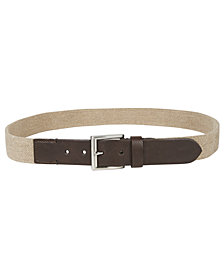 Club Room Men's Casual Stretch Belt, Created for Macy's