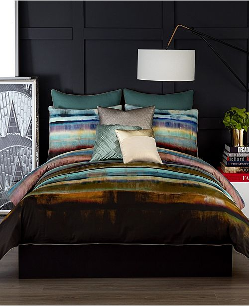Vince Camuto Home Vince Camuto Lille Queen 3 Piece Comforter Set