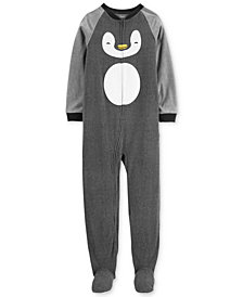 Carter's Little & Big Boys Fleece Penguin Pajamas