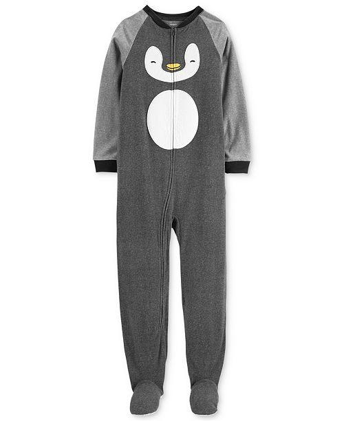 b31e31c97026 Carter s Little   Big Boys Fleece Penguin Pajamas   Reviews ...