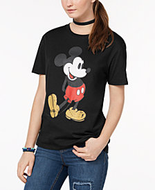 Hybrid Juniors' Mickey Graphic T-Shirt