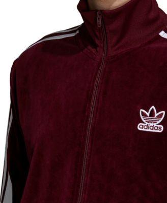 Finders | Men's Originals Adicolor Velour Track Jacket