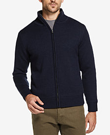 Weatherproof Vintage Men's Mock-Neck Full-Zip Sweater Jacket