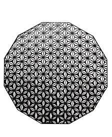 "Pressed Kaleidoscope Mat 14"""