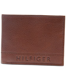 Men's RFID Pebbled Leather Wallet