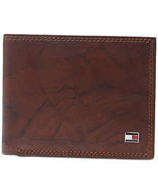 Tommy Hilfiger Men's Traveler Extra-Capacity Leather Wallet