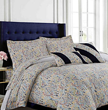 Fiji 300 Thread Count Cotton Oversized King Duvet Cover Set