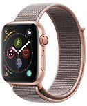 AppleWatch Series4 GPS+Cellular, 44mm Gold Aluminum Case with Pink Sand Sport Loop