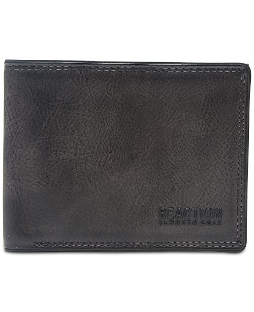 Kenneth Cole Men's Erben Traveler RFID Wallet