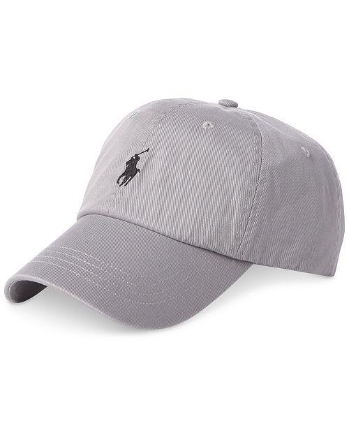 44bf379fb Polo Ralph Lauren Men's Cotton Chino Baseball Cap; Polo Ralph Lauren Men's  Cotton Chino Baseball ...