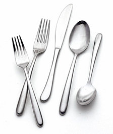 Hampton Forge Slope 20-Pc. Flatware Set, Service for 4