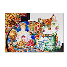 Oxana Ziaka 'Russian' Canvas Art Collection