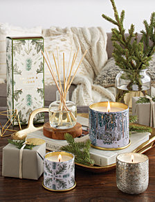 holiday window candles candle light illume holiday home fragrance collection christmas window candles macys