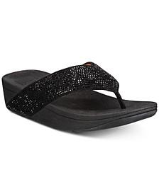 Ritzy Toe-Thong Sandals