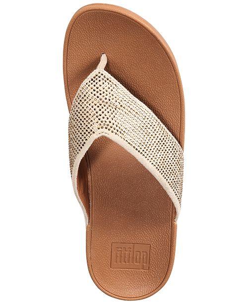 e6ed96e73ba4e8 FitFlop Ritzy Toe-Thong Sandals   Reviews - Sandals   Flip Flops ...