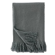 DKNY Mohair Throw in Blush