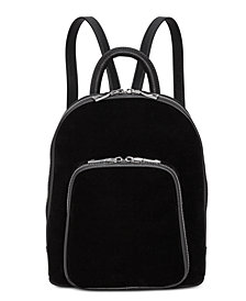 I.N.C. Farahh Velvet Backpack, Created for Macy's