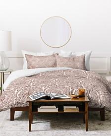 Deny Designs Holli Zollinger Anthology Of Pattern Elle Sundial Light Queen Duvet Set