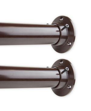 """Image of 1.5"""" Adjustable 48-84 inch Room Divider Rod and Socket Set"""