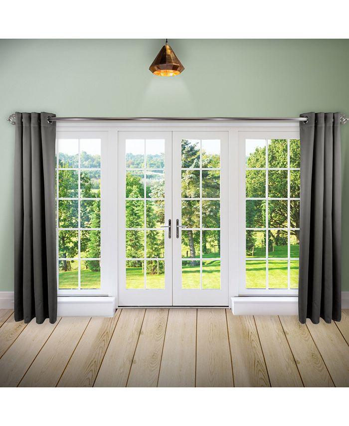 "Rod Desyne - Room Darkening Curtain - Turquoise 96"" x 96"""