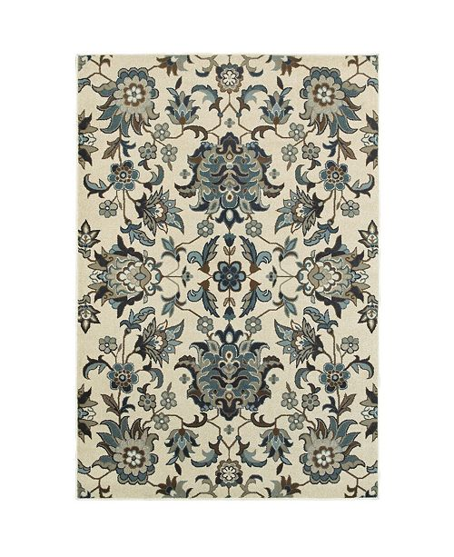 """Oriental Weavers Linden 7811 1'10"""" x 3' Area Rug"""