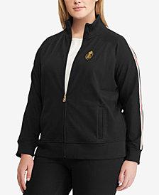 Lauren Ralph Lauren Plus Size Track Jacket