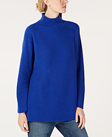 Eileen Fisher Cashmere Funnel-Neck Sweater