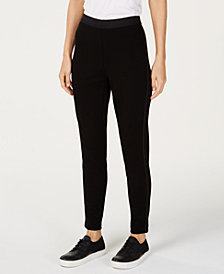 Eileen Fisher Tencel® Ponte Side-Detail Leggings