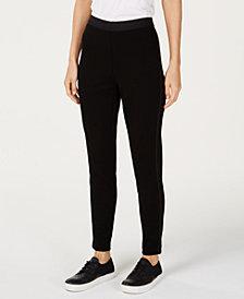Eileen Fisher Tencel® Ponte Side-Detail Leggings, Created for Macy's