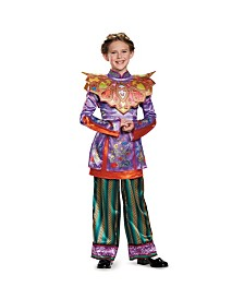 Alice in Wonderland Through The Looking Glass Deluxe Asian Alice Big Girls Costume