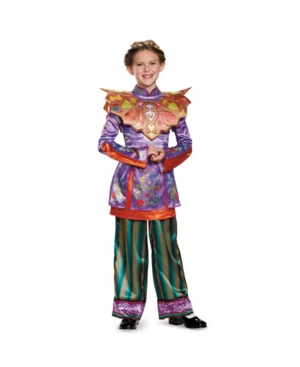Alice in Wonderland Through The Looking Glass Deluxe Asian Alice Little and Big Girls Costume