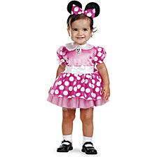 Mickey Mouse Clubhouse Pink Minnie Mouse Baby Girls Costume