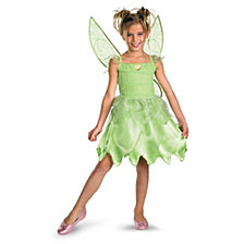Tink and The Fairy Rescue Tinkerbell Classic Big Girls Costume