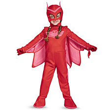 Pj Masks Owlette Deluxe Little Girls Costume