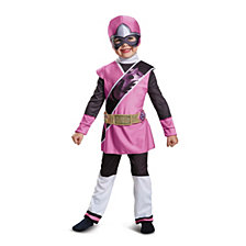 Pink Ranger Ninja Steel Deluxe Toddler Girls Costume