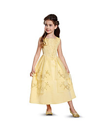 Disney Beauty and The Beast Belle Ball Gown Classic Big Girls Costume