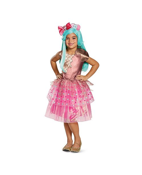 BuySeasons Shoppies Peppa Mint Deluxe Little and Big Girls Costume