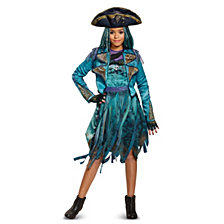 Disney Descendants 2 Uma Deluxe Isle Look Big Girls Costume