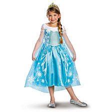 Disney Frozen Deluxe Elsa Big Girls Costume
