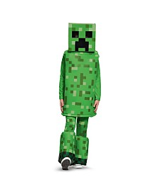 Minecraft Creeper Prestige Little and Big Boys Costume
