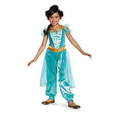 Disney Jasmine Deluxe Sparkle Toddler Girls Costume